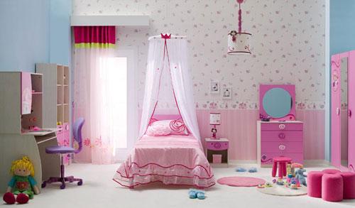Pokój dziecięcy – królestwo dla dziewczynek